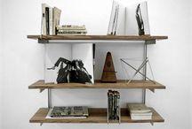 Bookshelfs and wardrobes / by HannasRoom