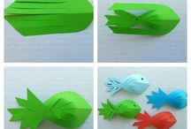 Fish from paper