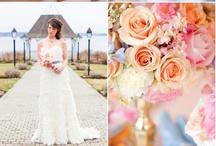 Wedding Flowers - Peach