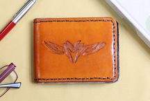 Leather Wallets / Handmade leather wallets are very distinctive and have real character!!