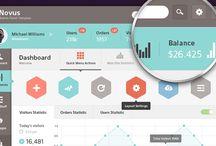 Dashboard / pro interface