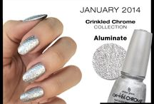 "China Glaze ""Colour of the Month"""
