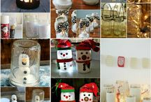 Xmas decoration ideas / DIY, recycle, reuse and more