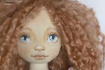 Doll/ текстильные куклы своими руками