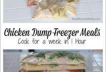 Freezer dump meals