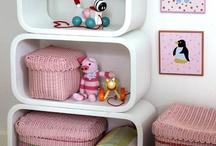 Mettere ordine nella Cameretta / Originali soluzioni per sistemare giochi, vestiti, pannolini e di più. Cesti porta giochi, scaffali & mensole, appendiabiti ecc.