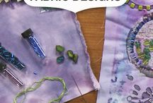 Quilting with beads