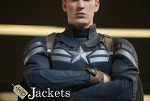 Captain  America Leather Jackets / Steve Rogers looks sizzling in the part of the devoted Captain America, Chris Evans. His stunning character gets to be considerably more tremendous with that hot blue Jacket for more visit www.hipjackets.com
