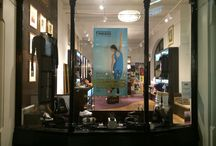 Shop / Window displays in our Flagship store Covent Garden, London