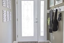 Front door / Need more light in the entry