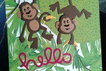 Marianne design, monkey