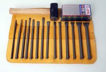 Stone Carving Tools - Firesharp Chisel Kits / Firesharp stone carving chisel kits. The chisels are suitable for working limestone and marble.