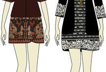tenun ikat dress