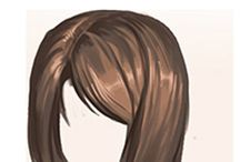 hair female