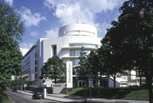 RM 1999 Siemens Headquarters Building, Munich, Germany 1983 - 1999 / RICHARD MEIER