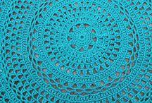 virkattu matto/häkeln Teppich