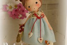Bambole di porcellana fredda
