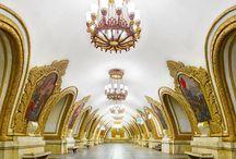 Metro Stations around the world!!