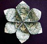 Origami pengar