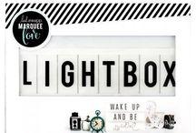 light box / letter box diy