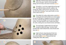 Vymačkávaná keramika