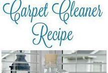 Carpet shampoo DIY