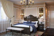 Дизайн Спальни / Красивые проекты интерьеров для спальни от Elle Interior