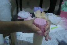 forminhas de tecidos