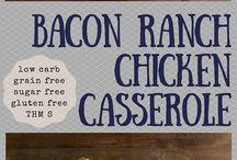 Casserole recipes bacon ranch