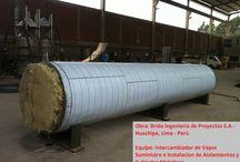 Proyectos: Aislamientos Térmicos en la Industria / Servicios AISLAM