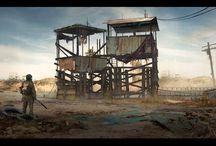 desert outposts