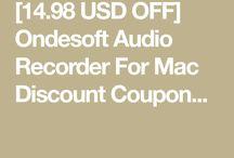 Ondesoft Audio Recorder For Mac