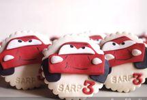 mcqueen cupcake