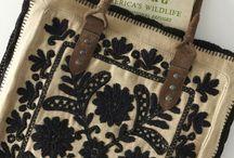 bolsos hechos con cojines