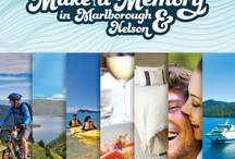 Make a Memory in Marlborough & Nelson / Forget the long drive North – sit back, soak up the scenery let us take you on an escape to the Top of the South. Sunny Marlborough and Nelson have something for everyone, whether you're after adventure or indulgence, so get inspired by some of our favourite, most memorable experiences