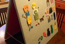 feld boards / felt books educational