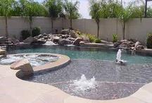 Dreamy Swimming pools / by Princess Lishy