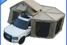 Lastwagen/Jeep Campen