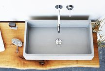 BOX concrete washbasin / BOX concrete washbasin