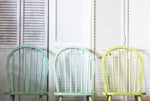 ombre winsor chairs