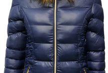 Snowflake Kurtka damska zimowa ocieplana futerko pikowania model #106 fashionavenue.pl / Kurtka damska zimowa ocieplana futerko jenot pikowania przeszycia złote zamki snowflake model #106 fashionavenue.pl