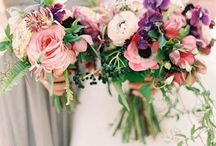 Bouquets / Wild, unstructured, organic bouquets that will steal your heart
