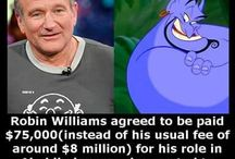 Robin williams / I decided to make this board as a tribute to a man who lit up my childhood, we love you Robin Williams:)