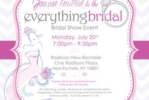 Everything Bridal Shows / TONIGHT at the Radisson Hotel in New Rochelle, NY, Everything Bridal is celebrating your engagement! Planning a wedding is easy! Speak to our wide variety of vendors to plan every step of your wedding perfectly! Pre register for tonight or walk ins are always welcomed! www.everythingbridalshows.com