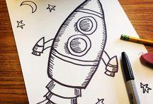Pencil sketch ink