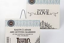 Wedding Paper / Wedding Invitations, signage, programs and calligraphy