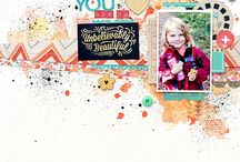 Inspiration for the October 2014 Kits from Citrus Twist / Layouts and projects by the Citrus Twist design team using the October 2014 kits