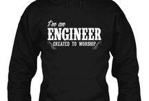 Engineer Created to Worship / Here's some gear for a mighty man of God who is an Engineer. If designing and building sustainable engineering projects is what you do, while at the same time devoting time to transforming your life for our Lord, then this shirt best suits you! Wear it Proudly ! Click Here to Purchase => http://discipletee.com/store