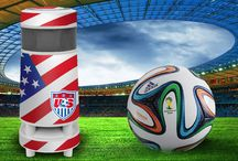 """Soundcast and the World Cup / Are you loving the World Cup this year?  Well if you're an American the answer is probably """"yes"""".  Go team USA! With a Soundcast OutCast speaker, you can rep your favorite team with a SkinIt wrap!"""