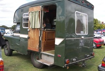 Classic Land-Rover Campers / by Pegasus Parts